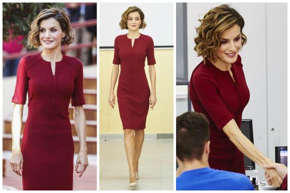 Vida Press nuotr./Ispanijos karalienė Letizia