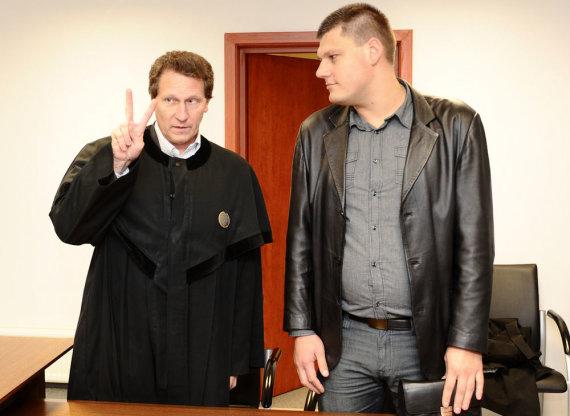 Luko Balandžio nuotr./Arnas Tumėnas ir Romualdas Mikliušas
