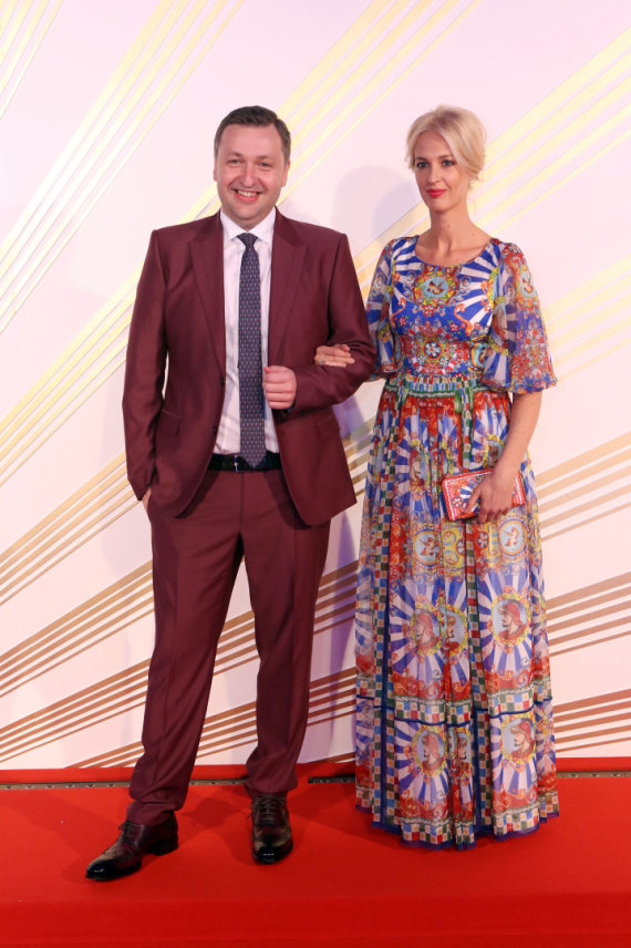 Teodoro Biliūno / 15min nuotr./Antanas Guoga su žmona Aiste