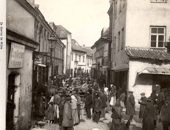 Žydų gatvė Vilniuje tarpukariu