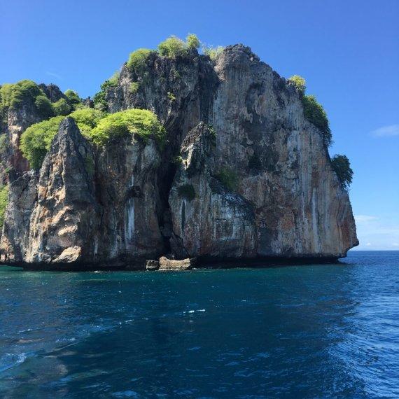 Asmeninio albumo nuotr./Julijos Jegorovos atostogos Tailande – Pi Pi salos