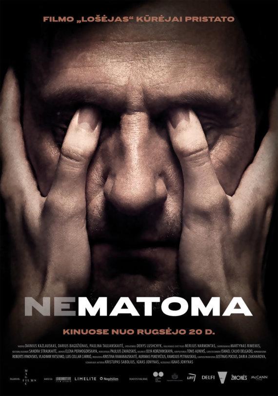 "Filmo ""Nematoma"" plakatas"