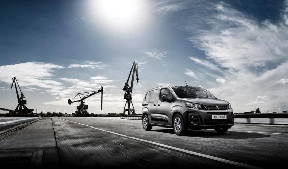 """Naujasis """"Peugeot Partner"""" išrinktas """"Metų furgonu"""""""