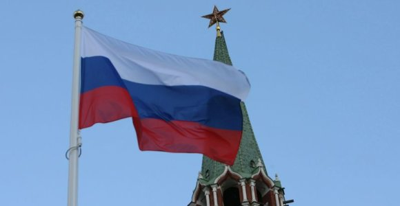 Rusijoje moteris kūju apdaužė budistinę stupą