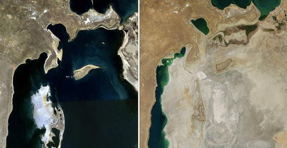 Kas yra likę iš kadaise vieno didžiausių ežerų pasaulyje – Aralo jūros