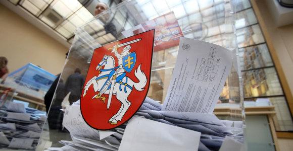 Savivaldos rinkimuose dalyvauti ketina per 14 tūkst. kandidatų