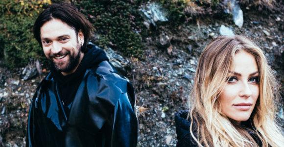 """Ginta ir Leonas Somovas pristato singlą """"Pray"""", kurį išleido populiariausia Amerikos įrašų kompanija"""