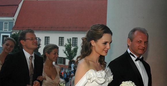 Astos Valentaitės ir Laimučio Pinkevičiaus vestuvių pokylis Vilniaus Rotušėje II