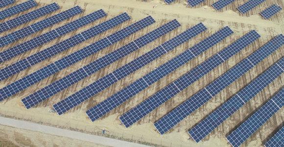 Lietuvos investuotojai Lenkijoje pastatė 98 proc. saulės energijos parkų