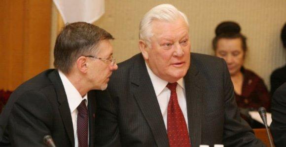 Minint Algirdo Brazausko gimimo metines Seime aptartas vienijantis Prezidento vaidmuo