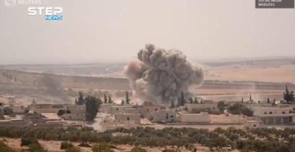 Kremlius: susitarimas dėl Sirijos Idlibo įgyvendinamas toliau