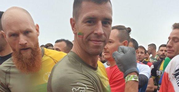 Lietuvis tapo ekstremalaus bėgimo pasaulio vicečempionu
