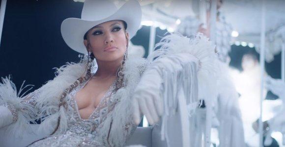 Jennifer Lopez naujausiame klipe atrodo beveik kaip prieš 20 metų: pademonstravo kerintį seksualumą