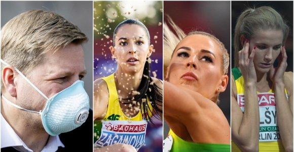 Grįžus iš užsienio izoliavo kitaip nei visus: meras nustebęs, atletės – patenkintos