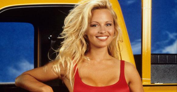 Sekso simbolis, aktorė Pamela Anderson