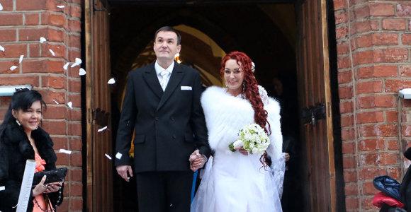 Džordana Butkutė ir Elegijus Strasevičius švenčia vestuvių metines: prisiminkime gražiausią jų dieną