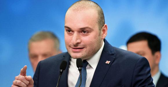 Gruzijos parlamentas patvirtino naują premjerą