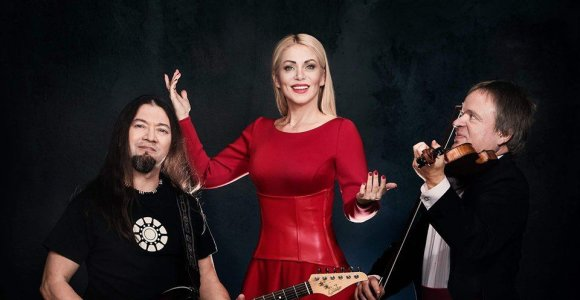 Vaida Genytė, Zbignevas Levickis ir Alex Ten susibūrė koncertui