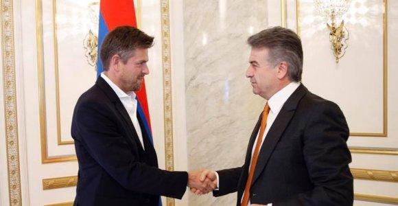 Ilja Laursas investuos Armėnijoje