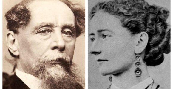 Tamsioji Ch.Dickenso gyvenimo pusė: seną žmoną – į beprotnamį, jauną meilužę – į lovą