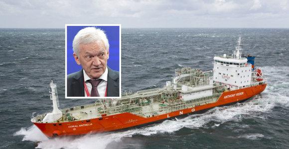 Kuo rizikuoja Lietuva, pirkdama dujas iš sankcijų sąraše esančio rusų oligarcho?
