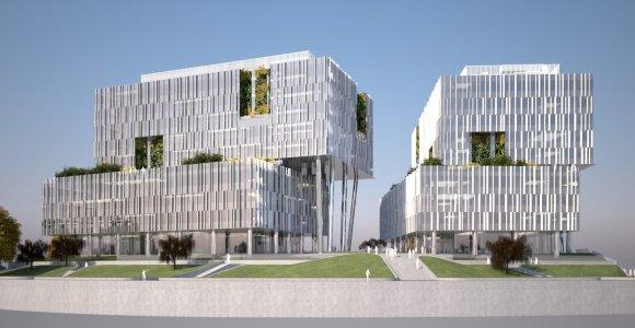 """""""Capitalica"""" biurų kompleksui Rygoje statyti pasirinko latvių rangovą """"Velve"""""""