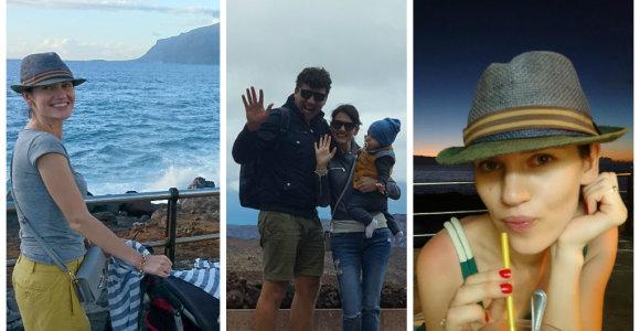 Eglės Čepaitės-Keturkės kelionė į Tenerifę: užlieti apartamentai šeimos atostogų nesugadino