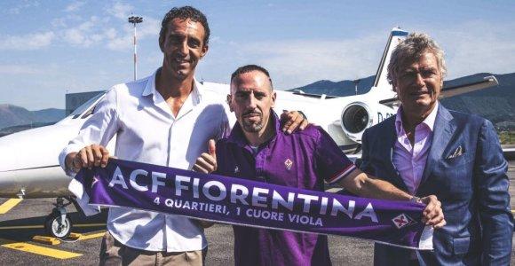 F.Ribery karjerą tęs Italijoje