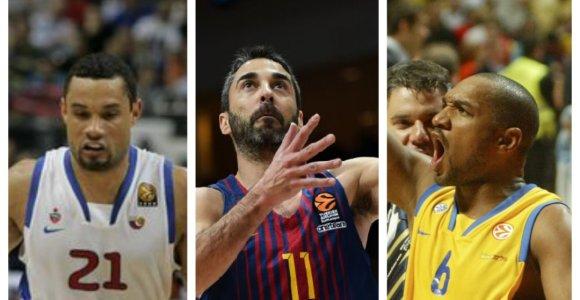 Testas krepšinio aistruoliams: ar pažinsite šiuos 15 žaidėjų – Eurolygos legendų?