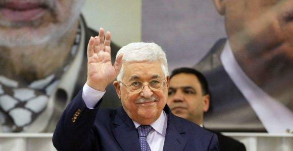 Palestiniečių lyderis M.Abbasas atsiprašė už savo komentarus apie Holokaustą