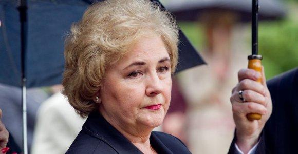 Iš Turniškių vejama Kristina Brazauskienė žada emigruoti