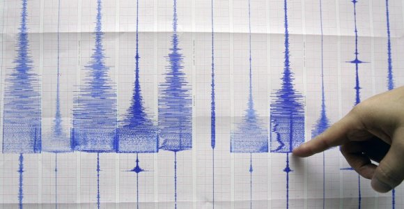 Toskaną supurtė 4,5 balo žemės drebėjimas