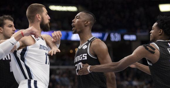 Jonas Valančiūnas įsivėlė į susistumdymą, bet pagerino karjeros NBA rekordą
