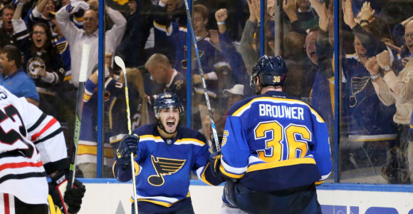 NHL čempionai išmesti iš kovos dėl titulo dar pirmajame raunde
