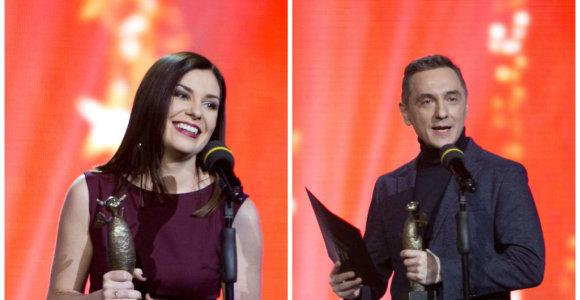 """LRT išdalino savo """"oskarus"""": tarp """"Auksinių bičių"""" laureatų – E.Daugėlaitė ir A.Rožickas"""