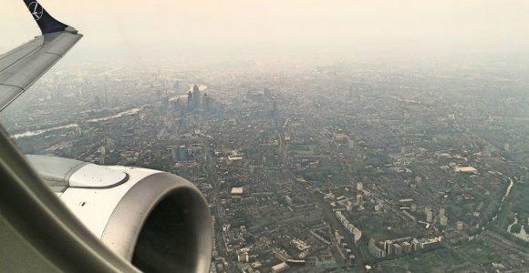 Londono oro uosto vadovas: kaip LOT pateko į oro uostą, į kurį patenka ne visi