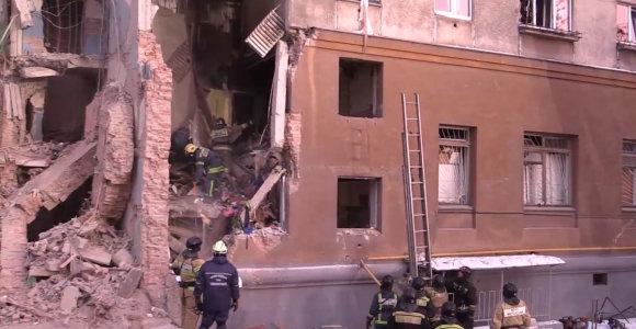 """Rusija ragina netikėti """"Islamo valstybe"""", kuri prisiėmė atsakomybę už sprogdinimą Magnitogorske"""
