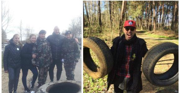 """Prie """"Darom"""" akcijos Klaipėdoje prisijungė ir Ramūnas Vyšniauskas bei Remigijus Žiogas"""