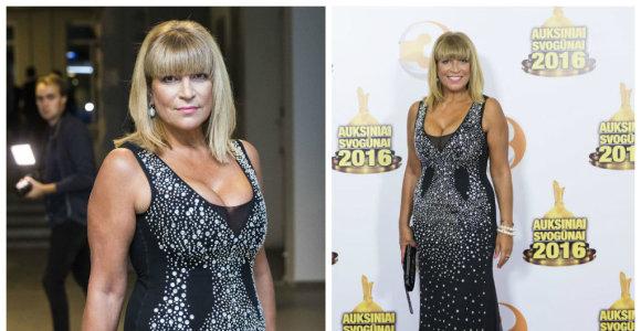 """Svetlana Pronina """"Auksiniuose svogūnuose"""" demonstravo ekstravagantišką stilių"""