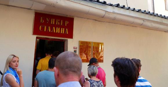 Slaptas Stalino bunkeris Samaroje traukia turistus