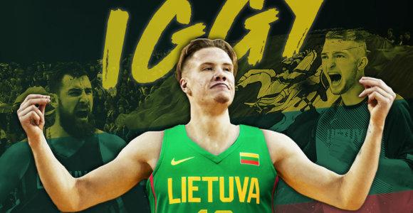 Nuopelnas Lietuvai: NBA mokosi tarti unikalaus lietuvio pavardę