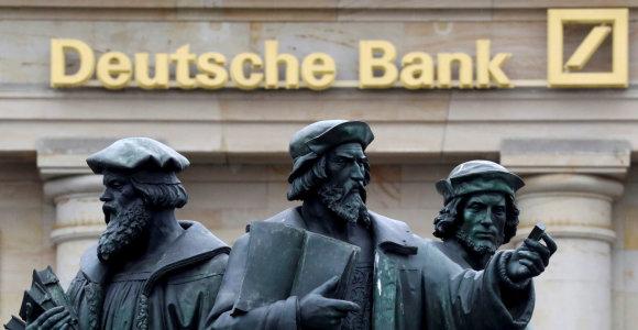 """""""Deutsche Bank"""" pardavė """"Goldman Sachs"""" dalį aktyvų portfelio"""
