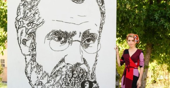 Los Andžele menininkės J.Vaitkutės instaliacija įamžino čia gyvenusį signatarą Mykolą Biržišką