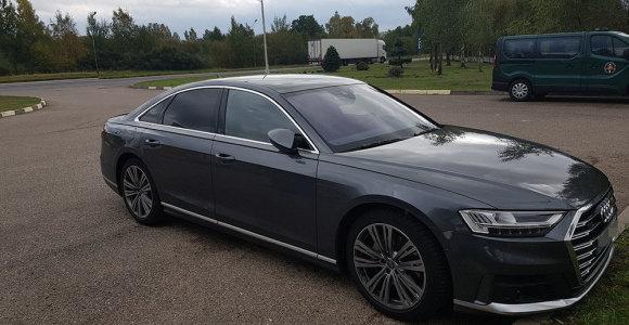"""Į 2019 m. pagamintus """"Audi"""" ir """"Mercedes"""" dzūkų pareigūnai žvelgė rūsčiai: abu vairuotojus išlaipino"""