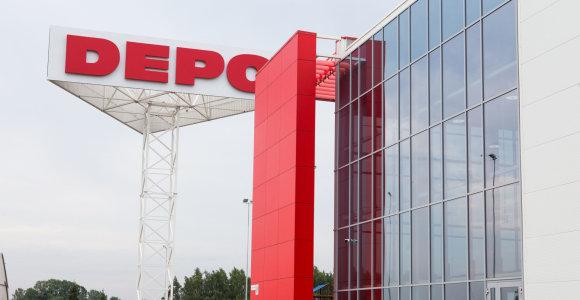 """Didžiausia Latvijos statybų sektoriuje – """"Depo DIY"""""""