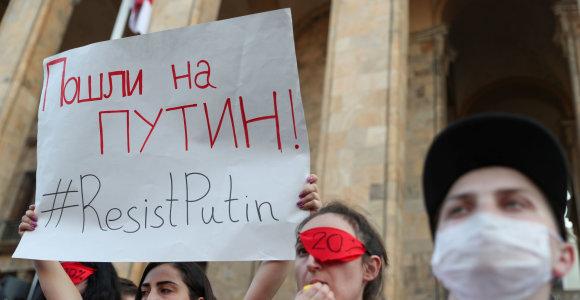 Sakartvelo analitikas: Rusija suprato, kad jos minkštoji galia neveikia kaip tikėtasi