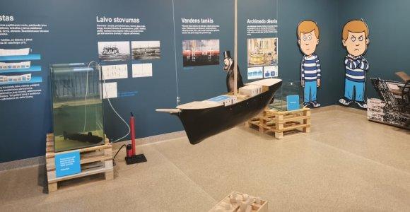 Jūrų muziejus Kadetų mokykloje įrengė klasę