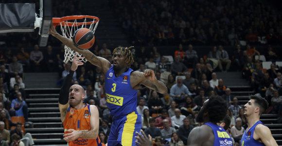 """Valensijoje – dramatiškas """"Maccabi"""" triumfas"""
