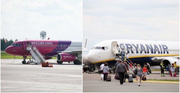 Lėktuvų bilietų pirkėjai jaučiasi suklaidinti tarpininkų: panašus dizainas ir spalvos