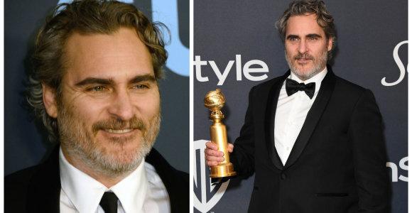 Duoto pažado Joaquinas Phoenixas laikosi: į visus apdovanojimus – su tuo pačiu kostiumu